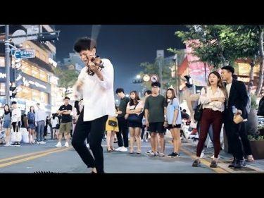 バイオリンの男子学生の信じられない路上演奏 by 路上ライブTV (Daily Busking)