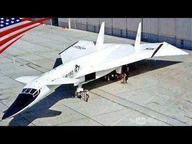 【史上最速マッハ3で衝撃波に乗る】超音速爆撃機XB-70ヴァルキリー by USA Military Channel 2