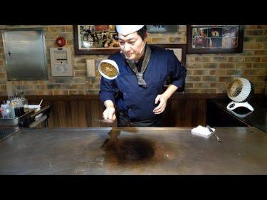 素晴らしいスキル、鉄板焼きステーキマスター-韓国の屋台の食べ物 #야미보이 Yummyboy